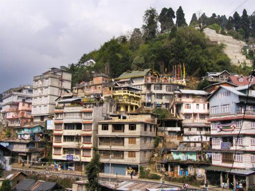 Типичная улица Дарджилинга