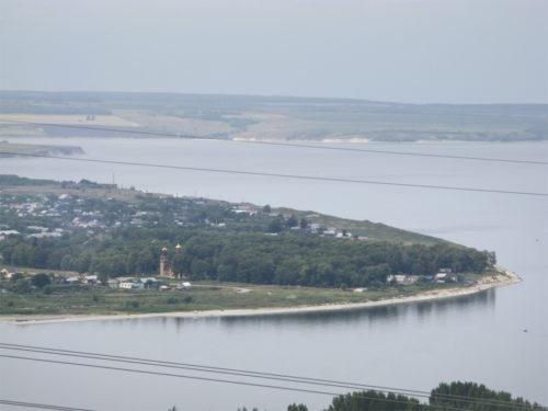 Вид на Усолье с вершины Светелки, 2011 год