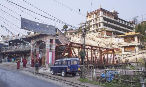 Монастырь школы Сакья - единственный монастырь этой школы в Сиккиме