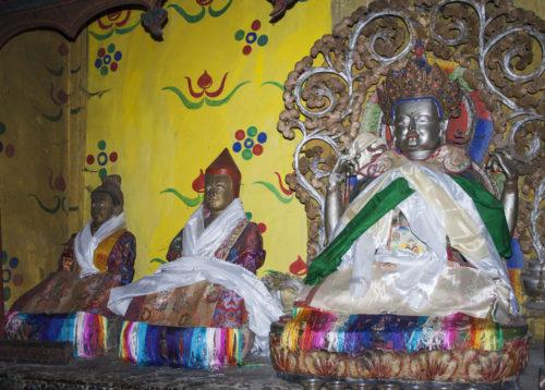 Буддийские божества и святые