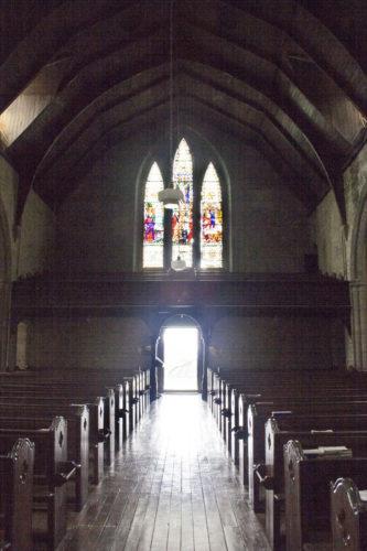 Мы немного передохнули в тишине собора