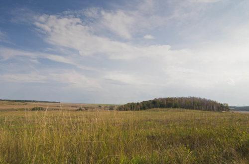 Пейзаж Усольско-Комаровской равнины