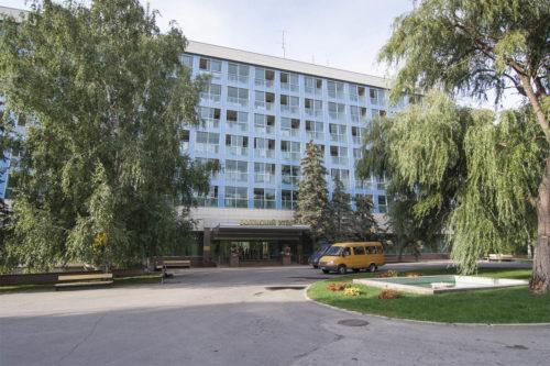 Центральный корпус санатория
