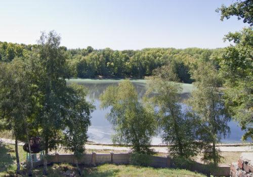 Серное озеро. Вид с верхней террасы