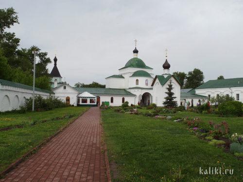 Надвратная церковь св. Кирилла Белозерского
