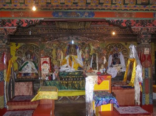 Алтарь монастыря Дабди