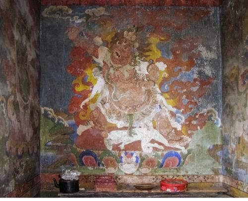 Грозное буддийское божество