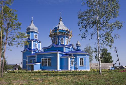 Церковь Казанской иконы Божией Матери в Нероновке