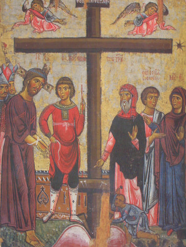 Крестный путь. Роспись храма Святого Креста в деревне Пелендри