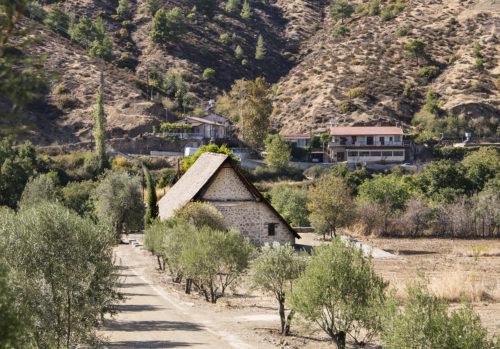 Церковь Богородицы Подиту в деревне Галата.
