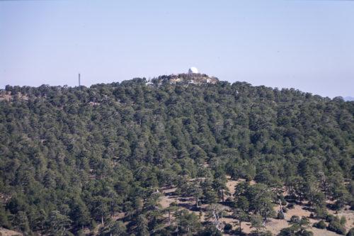 Английский радар на вершине Олимпа.