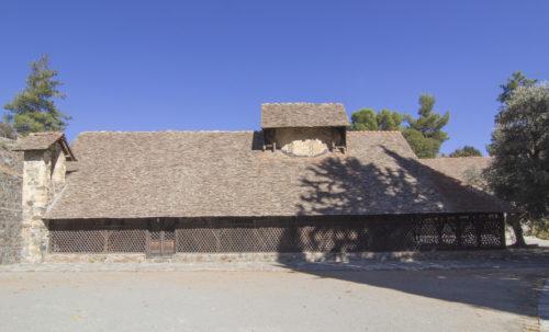 Церковь Пресвятой Богородицы Аракиотиссы (Панагия ту Арака) в деревне Лагудера.