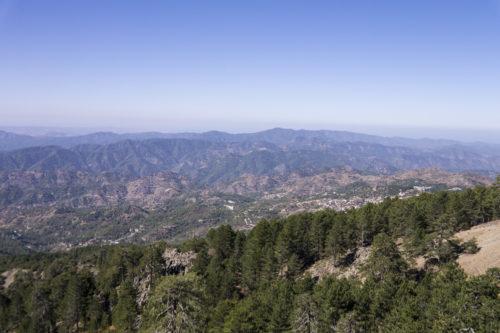 Вид на западное побережье Кипра
