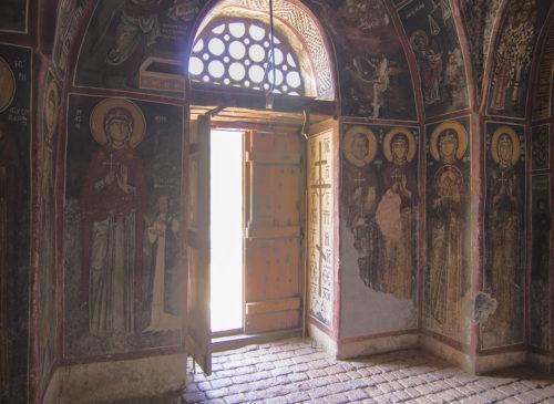 Фрески святых