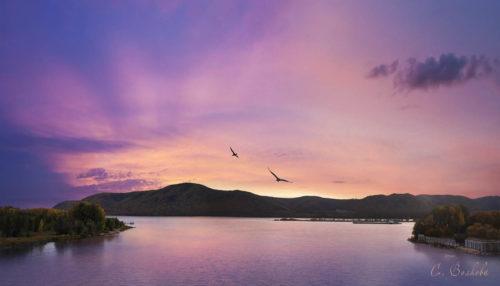 Зов Вечности. Закат в Жигулевских горах