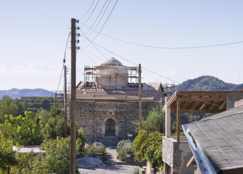 Церковь Святого Креста в деревне Пелендри