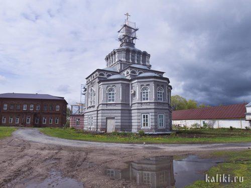 Восстановленная церковь Евфимия Великого