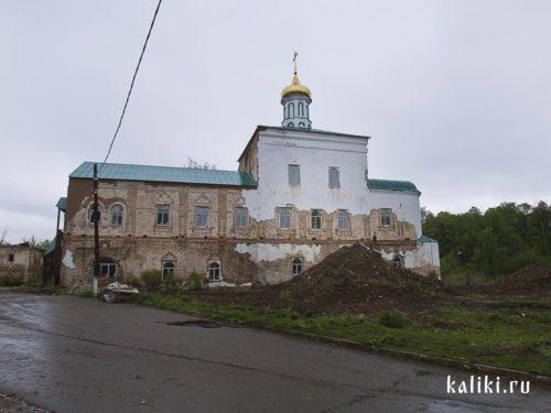 Восстанавливаемый Воскресенский собор Новоиерусалимского монастыря