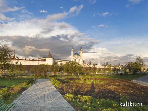 Облака над Кремлем