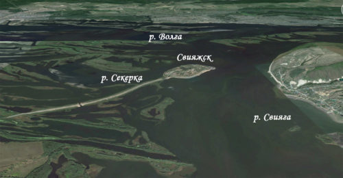 Остров-град Свияжск