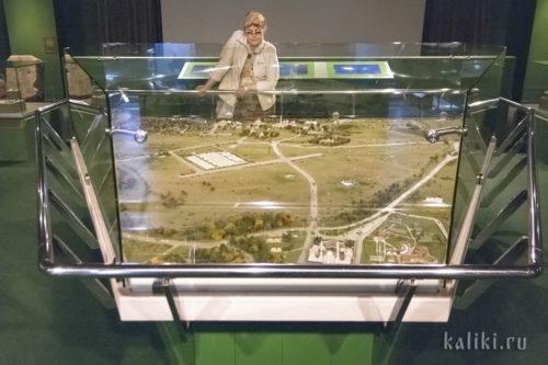Реконструкция Болгарского городища