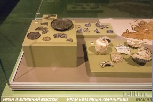 Находки иранского и ближневосточного происхождения