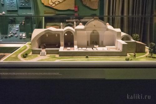 Реконструкция ханских бань
