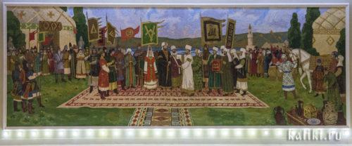 Принятие болгарами ислама в 922 году