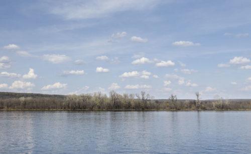 По дороге в Винновку. Высокая Волга