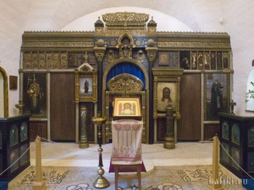 Иконостас церкви Спаса Нерукотворного