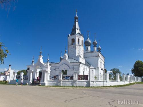 Храм святителя Иоанна Златоуста в деревне Годеново