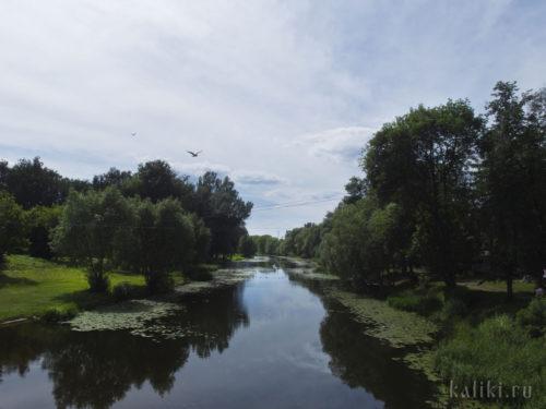 Вид на реку Трубеж