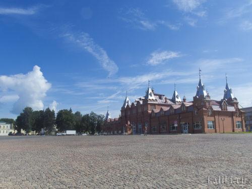 Торговые ряды на Красногорской площади