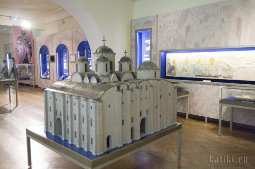 Музейная реконструкция Софийского Собора