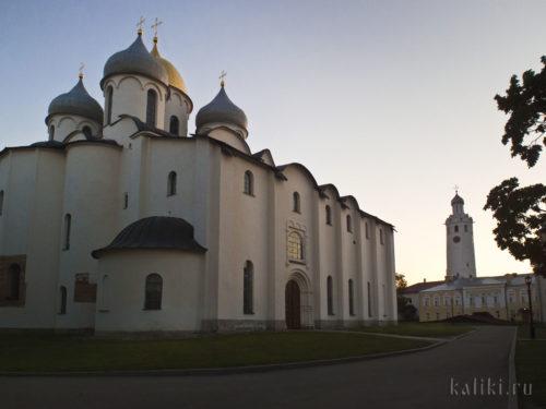 Собор Софии Премудрости Божией - духовный центр Новгорода