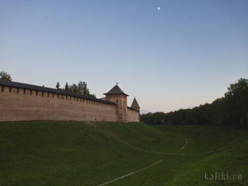 Стена Новгородского Детинца