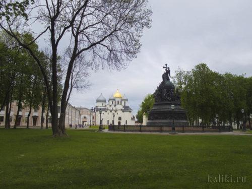 """Памятник """"Тысячелетие России"""""""