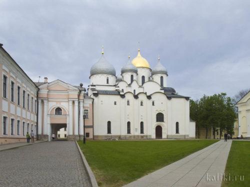 Софийский Собор. Северная сторона