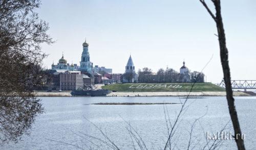 Вид на Сызранский Кремль