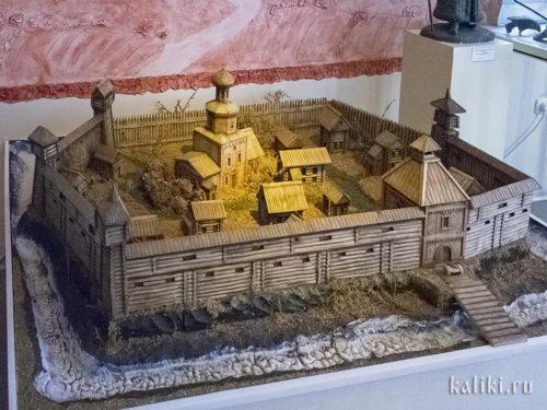 Сызранский Кремль. Музейная реконструкция