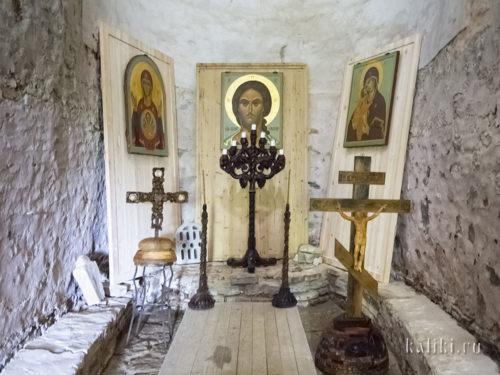Церковь Параскевы Пятницы на Торгу. Внутренняя экспозиция