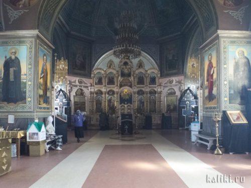 Интерьер Вознесенского собора