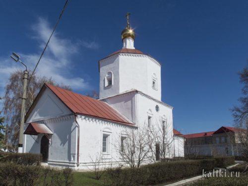 Церковь Рождества Христова в сызранском Кремле