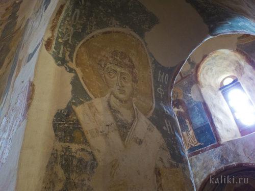 Фрески церкви Спаса Преображения на Нередице
