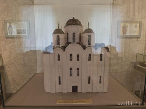 Музейная реконструкция Никольского собора