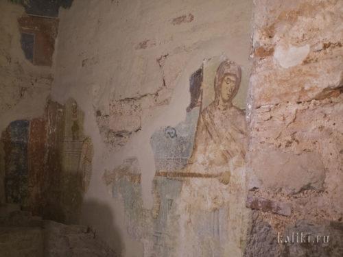 Фреска о праведном Иове Николо-Дворищенского собора