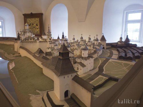 Музейная реконструкция Псковского Крома и Довмонтова города XIV-XVI вв.