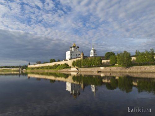 Псковский Кром и Троицкий собор