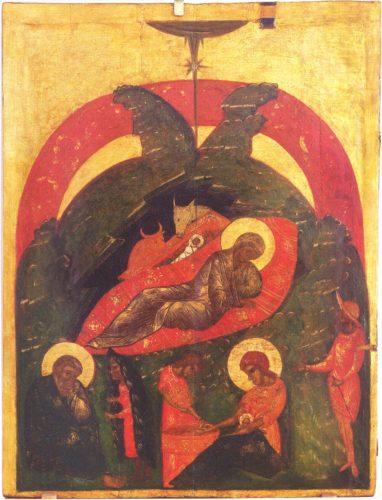 Рождество Христово. Из собрания Псковского художественного музея