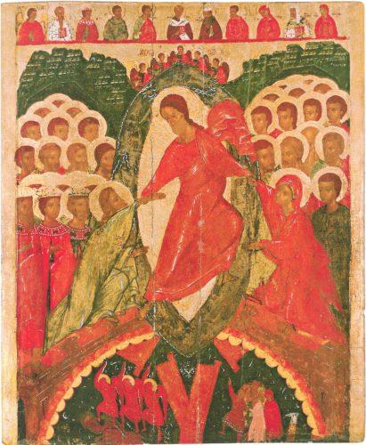 Сошествие во ад. Из собрания Псковского художественного музея